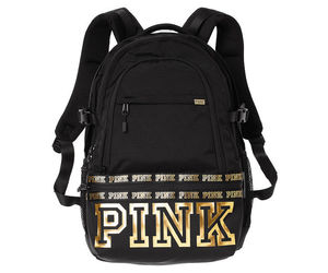 black, gold, and pink image
