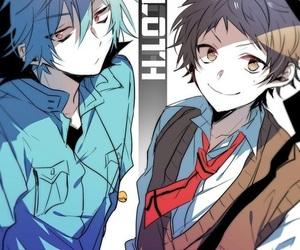 anime, servamp, and kuro image