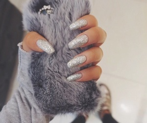 furry, nails, and silver image