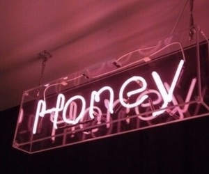 honey, pink, and themes image