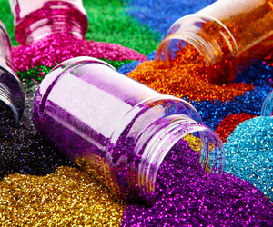 glitter and colors image