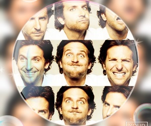 cooper, bradley, and silly faces image