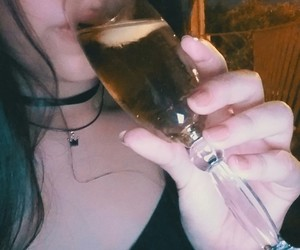 alcohol, alone, and drunk image