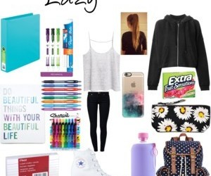 ideas and school. outfits image