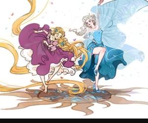 dance, disney, and magic image