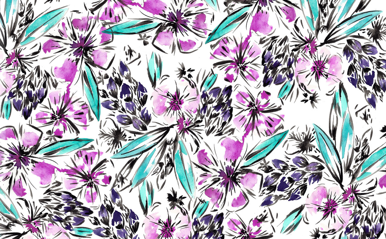 Floral Desktop I Do Not Own This Image On We Heart It