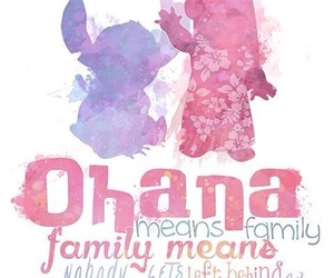 disney, stitch, and family image