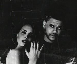 the weeknd, lana del rey, and lana image