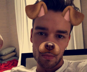 liam payne, snapchat, and one direction image