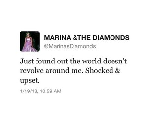 marina and the diamonds, tweet, and funny image