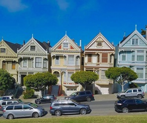 california, full house, and outside image