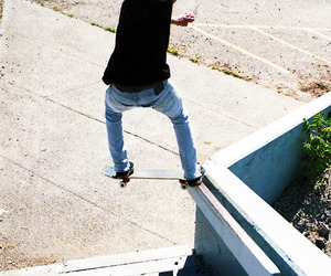 skater, skate, and skateboard image