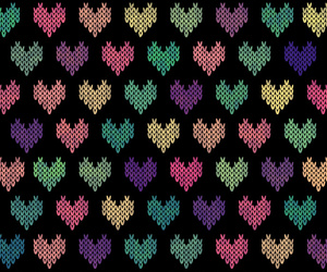 background, knitted, and pattern image