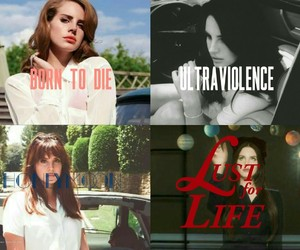 ultraviolence, honeymoon, and born to die image