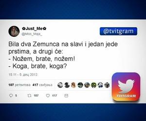 balkan, twitter, and tviter image