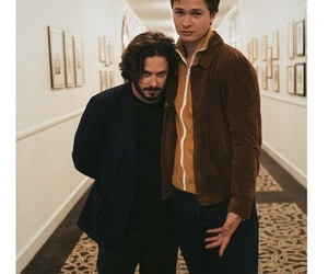edgar wright, ansel elgort, and baby driver image