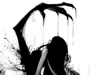 anime, art, and dark image