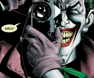 joker, comic, and batman image
