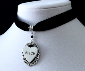 choker, heart, and jewelry image