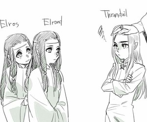 deviantart, lord of the rings, and thranduil image