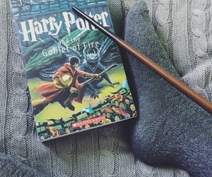 book, cedric diggory, and goblet of fire image