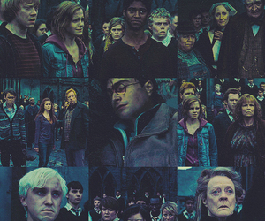 harry potter, hermione granger, and rony weasley image