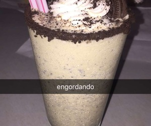 delicious, milkshake, and oreo image