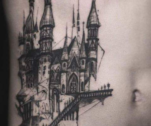 Arhitecture, art, and ink image