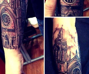 architecture and tattoo image