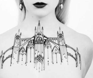 architecture, tattoo, and beautiful image