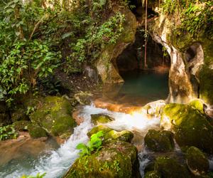 Belize, cave, and maya image