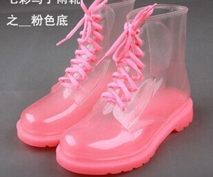 boots, transparente, and pastelgoth image