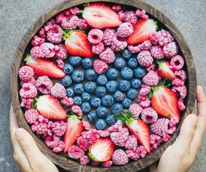 food, fruit, and love image