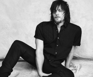 boy, daddy, and norman reedus image