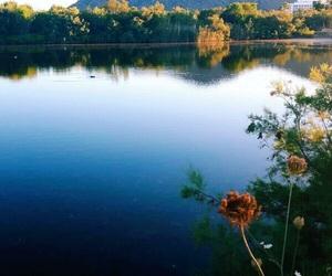 lake, mallorca, and mountain image