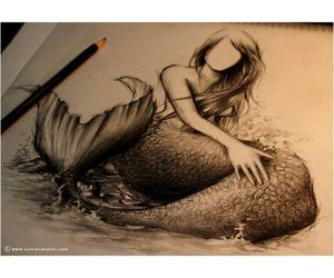 mermaid, tattoo, and perfect image