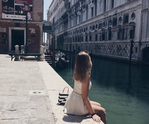girl, italy, and summer image
