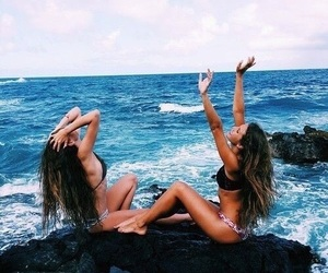 bff, sea, and bff goals image
