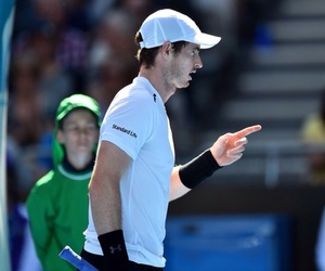 australian open, tennis, and andy murray image