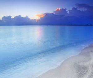 beach, relax, and blue image