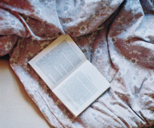 bed, book lovers, and girl image