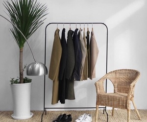aesthetic, clothing rack, and fashion image