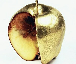 apple, gold, and golden image