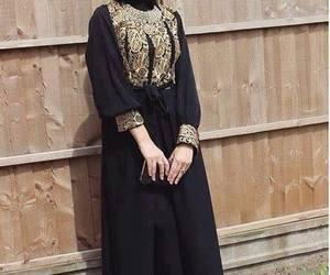 hijab fashion and abaya image