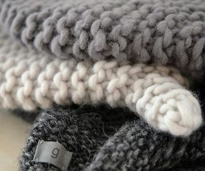 autumn, gray, and sweaters image