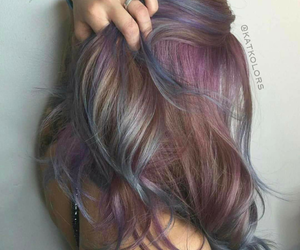 hair, color, and colored image