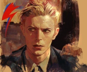 art and david bowie image