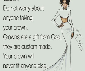 crown, power, and girl image