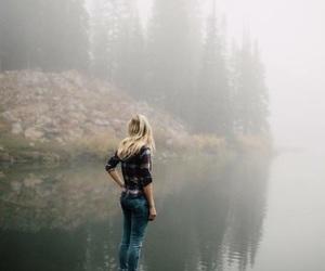 adventure, lake, and nature image