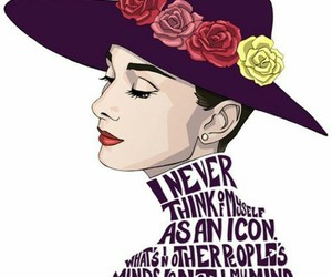 audrey hepburn, quotes, and audrey image